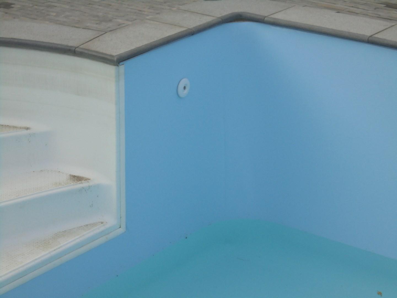 Nieuwe zwembadliner